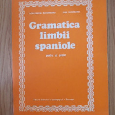 Gramatica limbii spaniole- DUHANEANU - Curs Limba Spaniola Altele