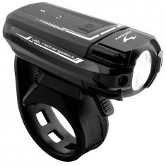"FAR CU ACUMULATOR MOON,, METEOR 250"" USB/66 GRAMEPB Cod:220797 - Piesa bicicleta"