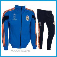 Trening REAL MADRID - Bluza si pantaloni conici - Modele noi - Pret Special 1032 - Trening barbati, Marime: S, Culoare: Din imagine