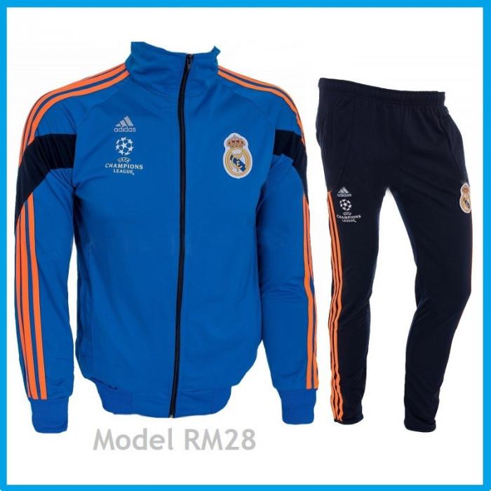 Trening REAL MADRID - Bluza si pantaloni conici - Modele noi - Pret Special 1032