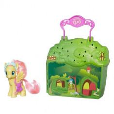 Set My Little Pony - Cabana lui Fluttershy - Figurina Povesti Hasbro
