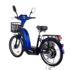 Bicicleta electrica Laser 36V 12Ah autonomie 33km culoare albastruPB Cod:E00002-2 - Mountain Bike