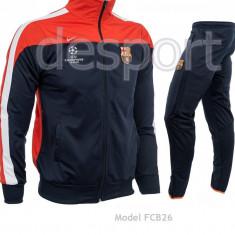 Trening BARCELONA - Bluza si pantaloni conici - Modele noi - Pret Special 1006 - Trening barbati, Marime: L, XL, XXL, Culoare: Din imagine