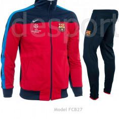 Trening BARCELONA - Bluza si pantaloni conici - Modele noi - Pret Special 1008 - Trening barbati, Marime: M/L, Culoare: Din imagine