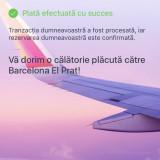 VAND BILET DE AVION TIMISOARA-BARCELONA EL PRAT 9-16 AUGUST - Bilet avion