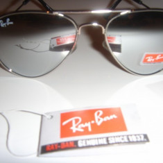 Ray Ban aviator 3025 silver oglinda - Ochelari de soare Ray Ban