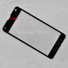 Geam Microsoft Lumia 640 negru / ecran sticla noua - Geam carcasa