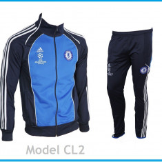 Trening Chelsea Londra - Bluza si pantaloni conici - Model NOU - 1043 - Trening barbati, Marime: S, M, Culoare: Din imagine