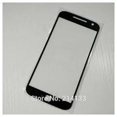 Geam Motorola Moto Z Play negru si alb / ecran sticla noua - Geam carcasa