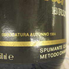 N. 18 -rare sampanie, CONTRATTO BRUT, sboccato 1984, 75 cl 12 vol