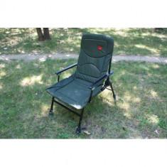 Scaun Diamant Alb Cu Manere Spatar Picioare Reglabile Ideal Pescuit Camping - Mobilier camping
