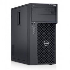 Workstation Refurbished Dell Precision T1650 Tower, Intel® Xeon® E3-1225, 8GB Ram DDR3, 240SSD + HDD 500GB S-ATA, DVDRW, Placa video dedicata nVidia - Sisteme desktop fara monitor Dell, Windows 10