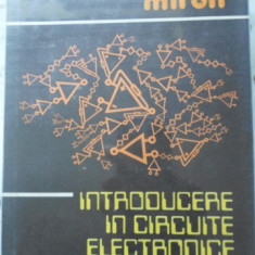 Introducere In Circuite Electronice - Costin Miron, 399671 - Carti Electrotehnica