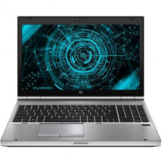 Laptop Refurbished HP EliteBook 8570p, Intel Core i7-3520, 4GB Ram DDR3, Hard Disk 320GB, DVDRW, display 15.6 inch, placa video dedicata Ati Radeon