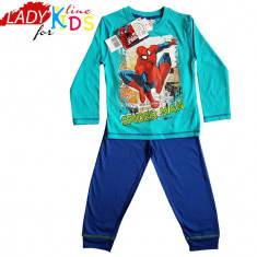 Pijamale Baieti, Model SpiderMan, Marimi Disponibile in Descriere, Cod 832, Marime: One size, Culoare: Turcoaz