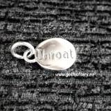 Pandantiv argint Chakra Gatului - Pandantiv fashion