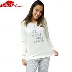 Pijama Dama Marimi Mari, Brand Sexen Woman, Model Je T'aime Mon Amour, Cod 1105