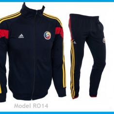 Trening Nationala Romaniei - Romania Bluza si pantaloni conici - Model NOU 1054 - Trening barbati, Marime: S, Culoare: Din imagine