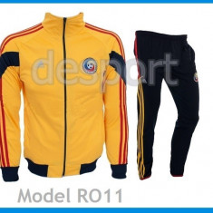 Trening Nationala Romaniei - Romania - Bluza si pantaloni conici - Model NOU1050 - Trening barbati, Marime: S, Culoare: Din imagine
