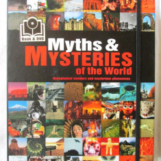 MYTHS & MYSTERIES OF THE WORLD, H. Genzmer / Hellenbrand, 2012. Carte + DVD. Noi - Carte mitologie