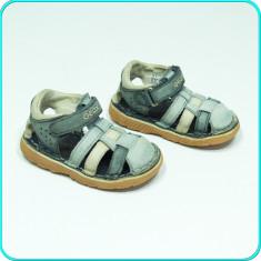 DE FIRMA → Sandale de calitate, din piele, comode, usoare GEOX → baieti | nr. 20 - Sandale copii Geox, Culoare: Din imagine, Piele naturala