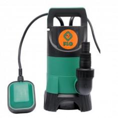 Pompa submersibila 400W pompa pentru apa murdara, Flo 79890 - Pompa gradina
