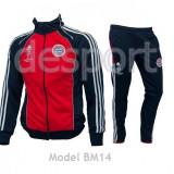 Trening BAYERN MUNCHEN - Bluza si pantaloni conici - Model NOU - 1024 - Trening barbati, Marime: S, M, Culoare: Din imagine