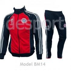 Trening BAYERN MUNCHEN - Bluza si pantaloni conici - Model NOU - 1024 - Trening barbati, Marime: S, M, L, XL, XXL, Culoare: Din imagine