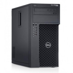 Workstation Refurbished Dell Precision T1650 Tower, Intel® Xeon® E3-1225, 8GB Ram DDR3, 240SSD + HDD 500GB S-ATA, DVDRW, Placa video dedicata nVidia