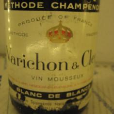 N. 10 -rare sampanie varichon & clerc, vin mousseux,brut france,  75 cl 11,5 vol