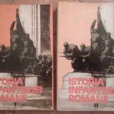 Istoria infanteriei romane - Gh. Romanescu (2 vol.) - Carte Istorie