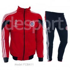 Trening BAYERN MUNCHEN - Bluza si pantaloni conici - Model NOU - 1023 - Trening barbati, Marime: S, Culoare: Din imagine