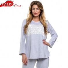 Pijama Dama Marimi Mari L-3XL, Model Elegant Lace, DN Nightwear, Cod 1076