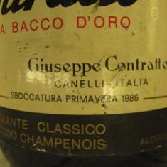 N. 21 -rare sampanie, RISERVA BACCO AUR, sboccato 1986, 75 cl 12 vol