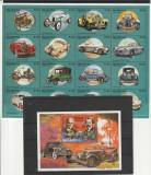 Masini de epoca ,transport ,constructori Ford ,Benz,Nicaragua., Nestampilat
