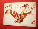 Ilustrata- Carti de Joc - Popa si Dama , autor Gaby Klein