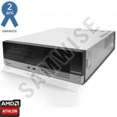 Calculator Fujitsu E5615 SFF, AMD Athlon 64 3800+ 2.4GHz, 2GB DDR2, 80GB, DVD-RW - Sisteme desktop fara monitor AMD, 2001-2500 Mhz, 40-99 GB, AM2