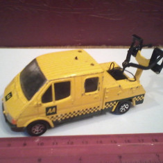 Bnk jc Corgi - Ford Transit - Jucarie de colectie