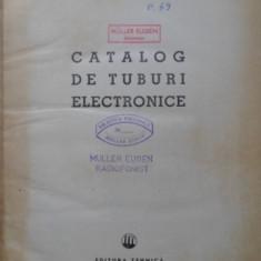 Catalog De Tuburi Electronice - Georgescu Aurel, Golea Ion, 399738 - Carti Electrotehnica