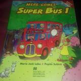 Here Comes Super Bus 1 Manual clasa intai - Carte in engleza