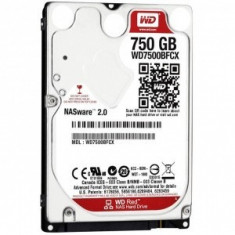 Hard disk notebook WD Red 750GB SATA-III Intellipower 16MB - HDD laptop Western Digital
