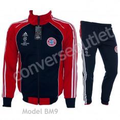Trening BAYERN MUNCHEN - Bluza si pantaloni conici - Model NOU - 1025 - Trening barbati, Marime: S, M, L, XL, Culoare: Din imagine