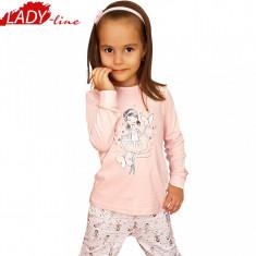 Pijamale Fete, Marimile Disponibile in Descriere, Model Ballerina, Cod 512, Marime: One size, Culoare: Roz
