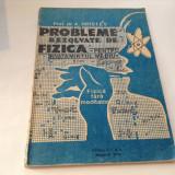 A HRISTEV PROBLEME REZOLVATE DE FIZICA DIN MANUALUL DE CLASA IX-A, RF7/3 - Culegere Fizica