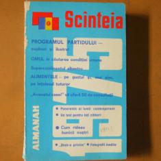 Scanteia almanah 1975 reclame Gospodina Mobra Dacia 1300 Galati Brukenthal - Carte Epoca de aur