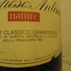 n. 14 -rare sampanie, marchese antinori, nature, sboccatura 1982, 75 cl 11,5 vol