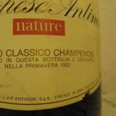 N. 14 -rare sampanie, marchese antinori, nature, sboccatura 1982, 75 cl 11, 5 vol