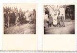 bnk foto -  Lot 2 fotografii cu militari - cca 1940 - Foto Peles Ploiesti