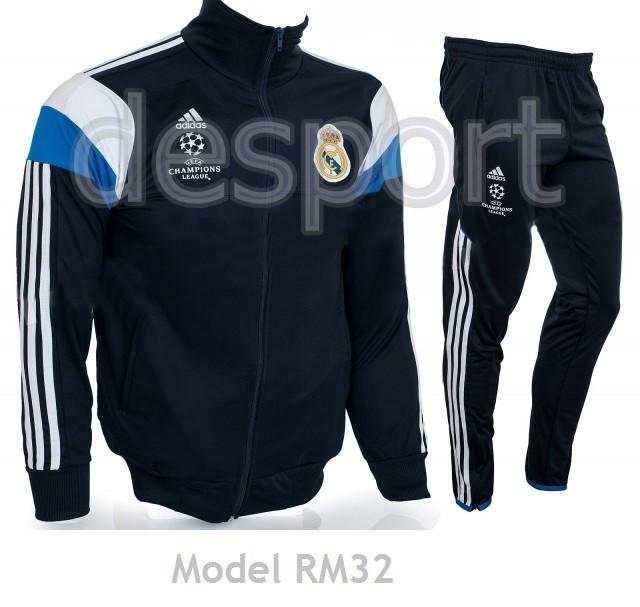 Trening conic Real Madrid pentru COPII 8 - 14 ANI - Model nou - Pret special - foto mare