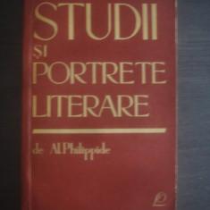 AL. PHILIPPIDE - STUDII SI PORTRETE LITERARE - Studiu literar